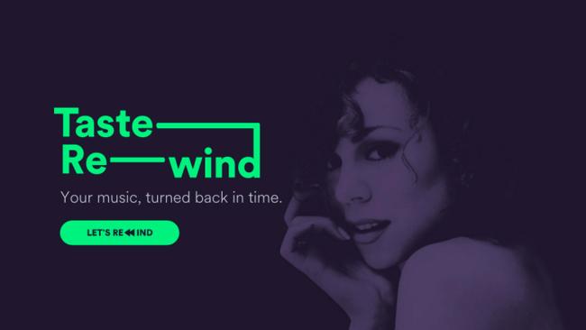 Spotify Taste Rewind: Spotify n'a pas poussé sa dernière note!