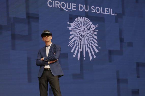 Le Cirque du Soleil vous explique comment la réalité mixte va changer votre travail